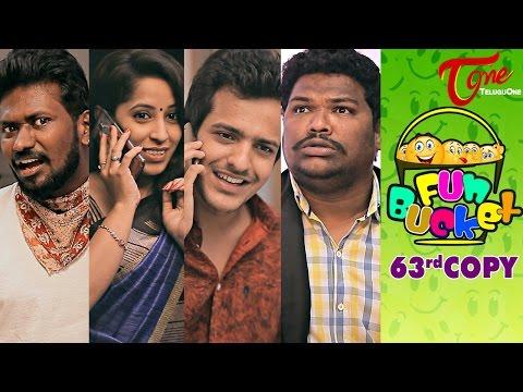 Fun Bucket 63rd Copy Funny Videos by Harsha Annavarapu TeluguComedyWebSeries