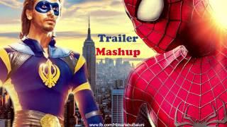 A Flying Jatt | The Amazing Spider-man | Trailer Mashup