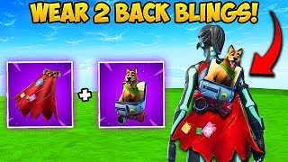 WEAR 2 BACK BLINGS AT ONCE?! - Fortnite Funny Fails and WTF Moments! #358