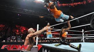 The Usos & Naomi vs. Cesaro, Tyson Kidd & Natalya: Raw, March 2, 2015