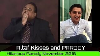 Altaf Hussain another Kisses video and Hilarious Parody 8th Nov 2016