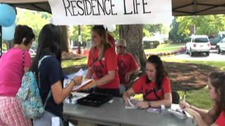 Carson-Newman Orientation 2011 - Move In Day