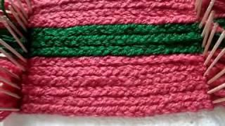 No chorchet /no knitting Easy woolen rug, carpet, table mat, coster ,chorchet pattern