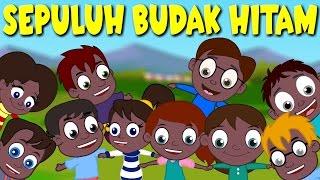 Lagu Kanak Kanak Melayu Malaysia | SEPULUH BUDAK HITAM - 10 Budak Hitam