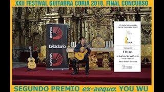 XXII Concurso de Guitarra Coria 2018. You Wu, segundo premio. XXII科里亚吉他比赛2018.尤武,二等奖。
