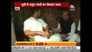 Rahul Gandhi Reaches Mhow, Eats Meal At Dalit's House