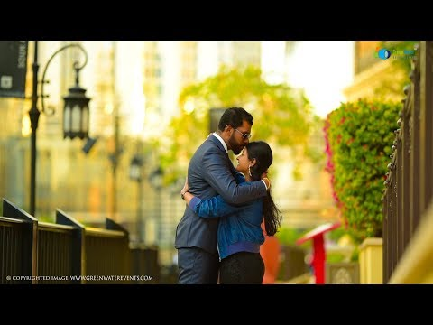 MOST ROMANTIC WEDDING SHOOT IN DUBAI Benny & Shilfa 2018