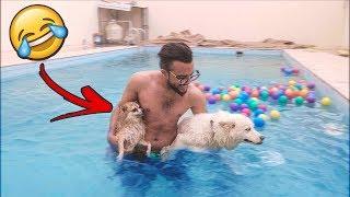 طبينا في المسبح مع روز و روبي💦 !!