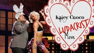 Kaley Cuoco performs her Ludacrist