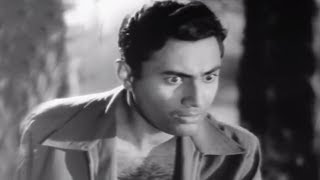 Dev Anand come to  Rescue Nalini Jaywant - Munimji - Scene 10/21