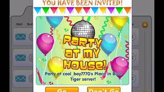 Party At My House! Fantage music