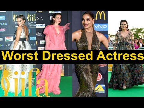 IIFA 2017 Red Carpet WORST Dressed Actresses | Check It Out