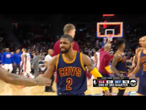 Kyrie Irving's half court buzzer beater vs Detroit in Game 4