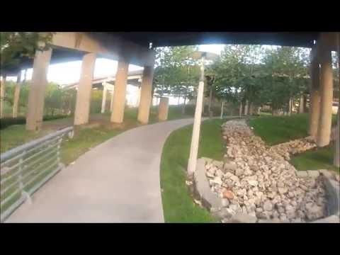 Heights Bike Trail and Buffalo Bayou Bike/Hike Trail