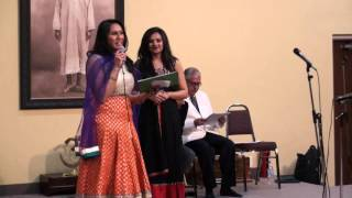 Marvee - Compiled videos of Emcee  of Round 1 & 2 Marvee Mk at Bollywood Buffet Musical
