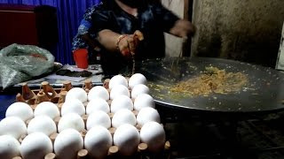KING of EGG OMELETTE | CRAZY CHEESE BUTTER RICH EGG DISHES | Egg Ghotala | Indian Street Food