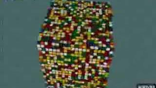 20x20x20 Rubik's Cube Solve