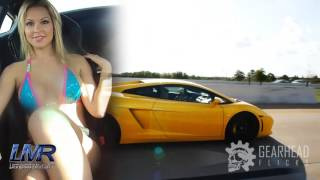 Beautiful Bikini Girls Drive Lamborghini Aventador
