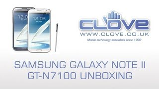 Samsung Galaxy Note II (Note 2) GT-N7100 Unboxing