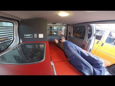Camper conversion Renault Trafic by Custom Campers