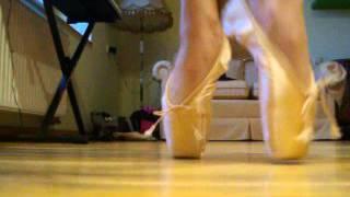 Pointe shoes part 1.