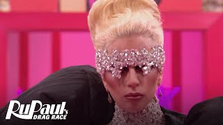 Lady Gaga's Big Entrance! | RuPaul's Drag Race Season 9 | #DragRaceGoesGAGA | Now on VH1!