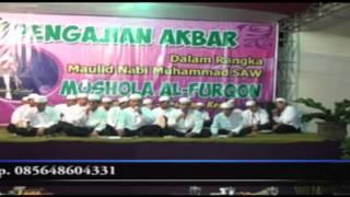 Rebana PPDH Pra Acara Pengajian KH Anwar Zahid Bogo Bulu Semen Kediri