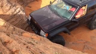 Jeep ZJ Grand Cherokee, 3 Monkeys, Sand Hallow Utah