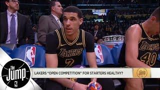 Lonzo Ball or Rajon Rondo: Who will start on Lakers alongside LeBron James? | The Jump | ESPN