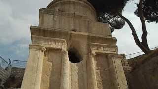 At the Tomb of Absalom, Jerusalem