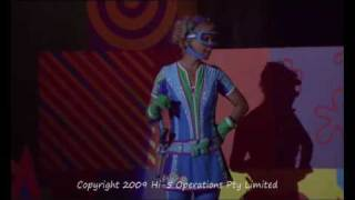Hi-5 Playtime Arena Tour DVD Sneak Peak : Super Spy Kellie