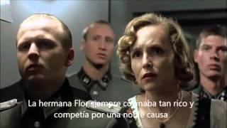 La bizarra Romina: Hitler se entera que la hermana Flor no gano Master Chef- La bizarra Romina