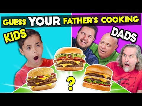 Can Kids Guess Their Father's Cooking