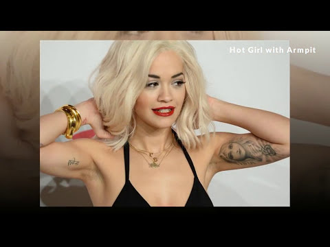 #08 armpit hair removal girl - Hot Girl with Armpit - [Europe Girl] 【わきが 治療】【ワキガ】【 脇 脱毛】【脇の下】
