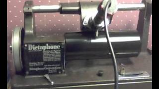 Lincoln's Gettysburg Address / recorded on the dictaphone