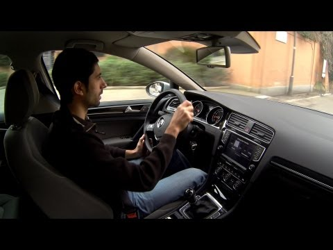 Nuova Volkswagen Golf VII 7 La prova della qualità percepita Quality Test