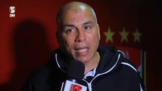 لقاء مع محمد يوسف بعد مباراة الجونة