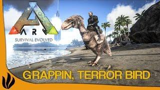 [FR] ARK: Survival Evolved - Grappin, Terror Bird & Gallimimus