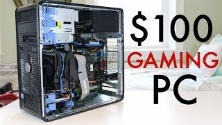 ULTIMATE $100 Gaming PC! (2016)