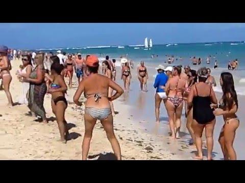 SEXY BEACH AEROBICS Luxury Bahia Principe Punta Cana