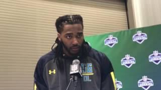 Tim Williams at the NFL combine