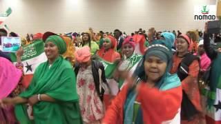 Xafladdii 25th guuraddii Somaliland. 21-05-2016 Utrecht. Holland. Stichting Nomad. Holland.