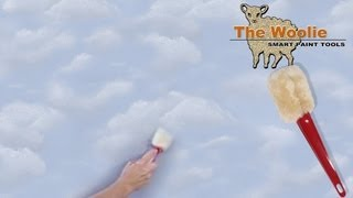 Clouds - The Fastest Way To Paint Them Ever! (How To Paint Your Walls)