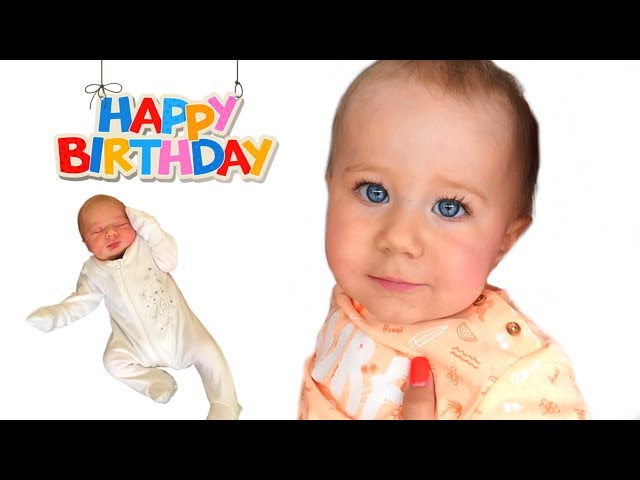 1 Year in 100 SECONDS   First Year of Baby's Life from Birth