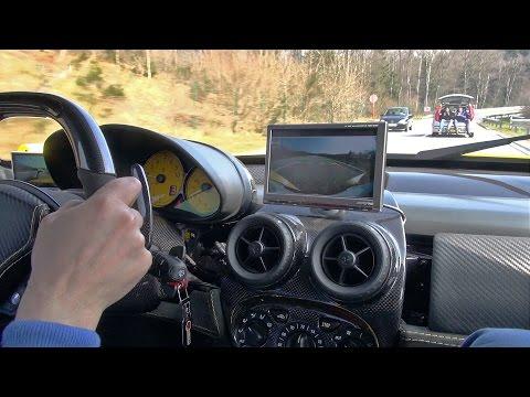 Onboard ride in a 1 of 1 Ferrari Enzo ZXX