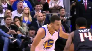 Ronnie Price Can't Stop Stephen Curry
