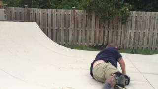 Sonny lion skateboarding