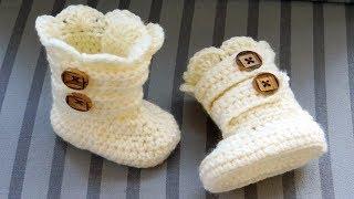 Crochet Baby Booties 6-12 Months idea