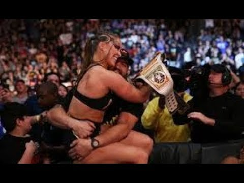 Xxx Mp4 Ronda Rousey Kiss Her Husband Travis Browne At SummerSlam⁠ ⁠2018 After Winning Women 39 S Champion 3gp Sex