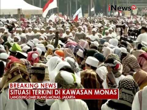[MERINDING] Jutaan Peserta Aksi Damai 212 Menyanyikan Indonesia Raya - iNews Breaking News 02/12